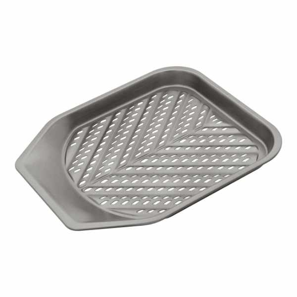 Blacha do frytek 28x28x2,5cm Judge Chip Tray szara