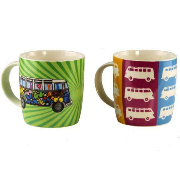 Kubek we love bus 370 ml BRISA VW BUS kolorowy