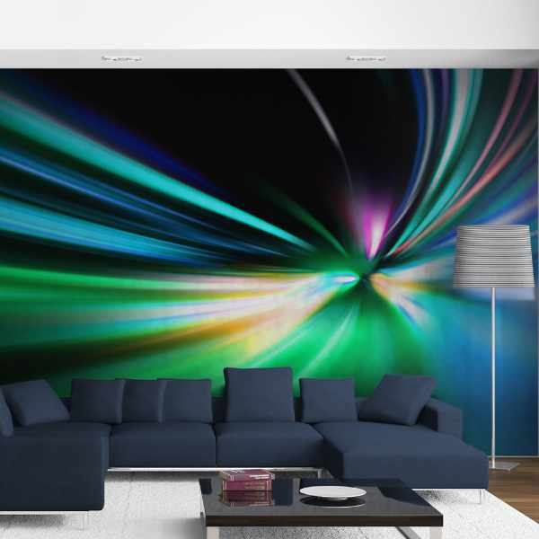 Fototapeta - Abstract design - speed (550x270 cm)