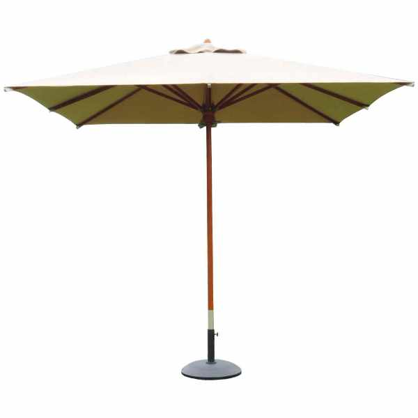 Parasol centralny 300x300 cm Miloo Home Nice de Lux beżowy