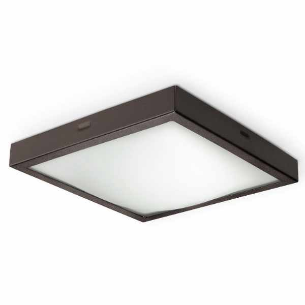 Plafon 22x22cm Sollux Lighting Studio wenge