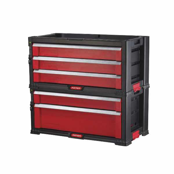 Regał 5 szuflad TOOL CHEST SET Keter